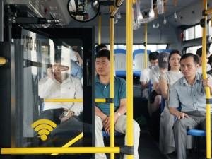 """Tin tức trong ngày - Trải nghiệm xe buýt """"5 sao"""" của Thủ đô"""