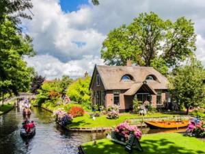 """Du lịch - Vẻ đẹp mê đắm của ngôi làng """"Venice"""" ở Hà Lan"""