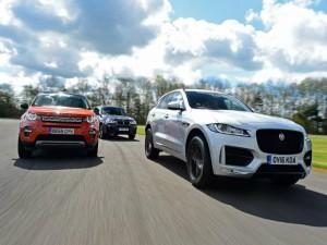 So kè Jaguar F-Pace, Land Rover Discovery Sport và BMW X3