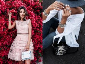 Học blogger thời trang sành điệu hơn nhờ vòng, nhẫn