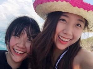 Phim - Nhan sắc xinh đẹp của hai em gái Trấn Thành