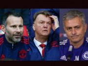 """Bóng đá - MU """"bắt cá 3 tay"""" với Mourinho, Giggs và Van Gaal"""