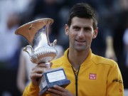 Thể thao - Tennis 24/7: Nhiều kỉ lục vẫy gọi Nole ở Rome Masters