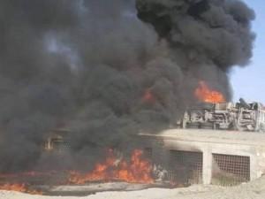 Xe bus đâm xe chở dầu ở Afghanistan, 73 người thiệt mạng