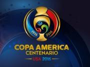 Lịch thi đấu bóng đá - Lịch thi đấu Copa America 2016
