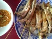 Ẩm thực - Ngon gì bằng cá bống dừa nướng muối ớt