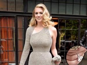 """Thời trang - """"Soi"""" nhẫn đính hôn 34 tỷ """"trai xấu"""" tặng Kate Upton"""