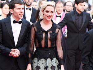 Phim - Kristen Stewart mặc đầm xuyên thấu trên thảm đỏ Cannes