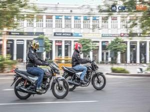 Ô tô - Xe máy - Nên mua xe côn rẻ Yamaha Saluto hay Honda CB Shine SP?