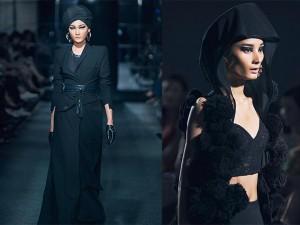 """Thời trang - Yếm, váy đụp, khăn mỏ quạ chưa bao giờ """"chất"""" đến thế"""