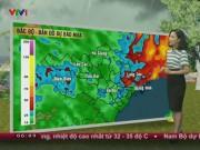 Tin tức trong ngày - Dự báo thời tiết VTV ngày 13/5: Mưa dồn dập ở Bắc Bộ