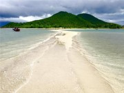 Du lịch - Điệp Sơn - Hòn đảo có lối đi giữa biển hot nhất hè 2016