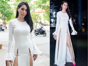 Thời trang - Choáng với chiếc váy quá táo bạo của Thủy Tiên