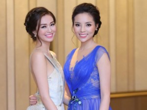 Phim - Khánh My đọ vẻ gợi cảm với Hoa hậu Kỳ Duyên