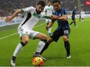 Bóng đá - Sassuolo - Inter: Hiệp 1 bùng nổ