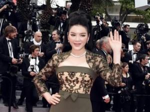 Phim - Lý Nhã Kỳ khoe vóc dáng kiêu sa trên thảm đỏ Cannes