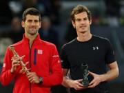"""Thể thao - CK Rome: Murray đâu có """"thuốc giải"""" Djokovic"""