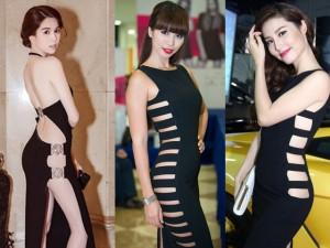 Ca nhạc - MTV - 11 mỹ nhân Việt gây tò mò với váy khó mặc nội y