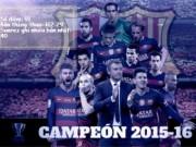 Bóng đá - Nhìn lại hành trình vô địch La Liga của Barca