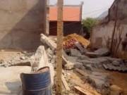 Tin tức trong ngày - Đào móng nhà, 2 thợ xây bị tường nhà bên đổ đè chết