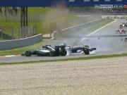 """Thể thao - F1–Spanish GP: """"Nội chiến"""" Mercedes, Red Bull hưởng lợi"""