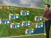 Tin tức trong ngày - Dự báo thời tiết VTV 16/5: Miền Bắc dịu mát