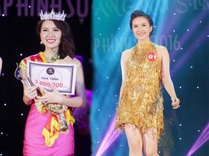 Nữ sinh 19 tuổi giành giải Hoa khôi Tư pháp hình sự