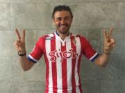 Bóng đá - Enrique: Barca vô địch không vui bằng… Gijon trụ hạng