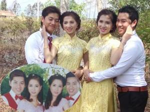 Bạn trẻ - Cuộc sống - Anh em song sinh cưới chị em sinh đôi ở Cà Mau