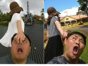 """Bạn trẻ - Cuộc sống - Cô vợ Đài Loan kéo lê chồng """"đi khắp thế gian"""""""