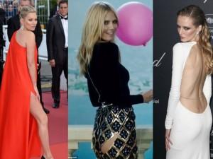 Thời trang - Dàn siêu mẫu diện vách rách, đầm xẻ tới Cannes