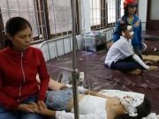 Tin tức trong ngày - Tin mới vụ nổ bình gas khiến 5 học sinh nhập viện