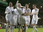 Bóng đá - ĐT Anh: Rooney là họng súng trong tay áo