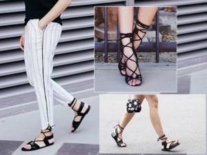 4 kiểu giày đẹp khó cưỡng hè này