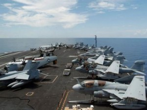 Thế giới - Chiến đấu cơ TQ chặn máy bay Mỹ trên Biển Đông