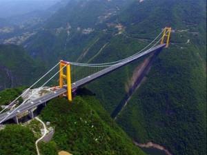 Du lịch - Vẻ đẹp choáng ngợp của cầu treo cao nhất thế giới