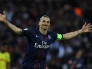 Ibra lép vế siêu phẩm sút xa ở top 5 bàn V38 Ligue I