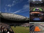 Thể thao - 10 thánh đường banh nỉ: Từ Roland Garros tới Wimbledon