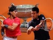 """Thể thao - Phân nhánh Roland Garros: Djokovic hẹn Nadal """"chung kết sớm"""""""