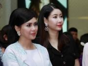 Phim - Hà Kiều Anh đẹp quý phái bên mẹ chồng Hà Tăng