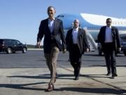 Tin tức trong ngày - Chuyên cơ Obama hạ cánh sớm, miễn kiểm tra an ninh ở Nội Bài