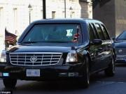 Thế giới - Video: Đoàn xe hoành tráng hộ tống ông Obama công du