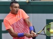 Thể thao - Roland Garros ngày 1: Kyrgios khởi đầu vất vả, hoãn trận Nishikori