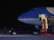 Ô tô - Xe máy - Hơn 40 chiếc xe chở Tổng thống Mỹ trên đường phố Hà Nội