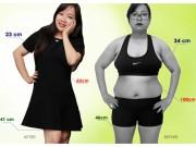Làm đẹp mỗi ngày - Tuyệt chiêu giảm 30kg không cần ăn kiêng của cô nàng 9X