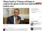 Video An ninh - Báo quốc tế dồn dập đưa tin ông Obama thăm Việt Nam