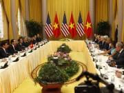 Tin tức trong ngày - Chủ tịch nước Trần Đại Quang hội đàm với Tổng thống Obama