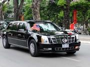 """Thế giới - [Infographic] Chi tiết siêu xe """"Quái thú"""" chở ông Obama"""