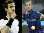 Thể thao - Trận Murray - Stepanek hoãn vì muộn