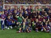 Bóng đá - Lỡ cúp C1, lập cú đúp quốc nội: Barca vẫn vĩ đại